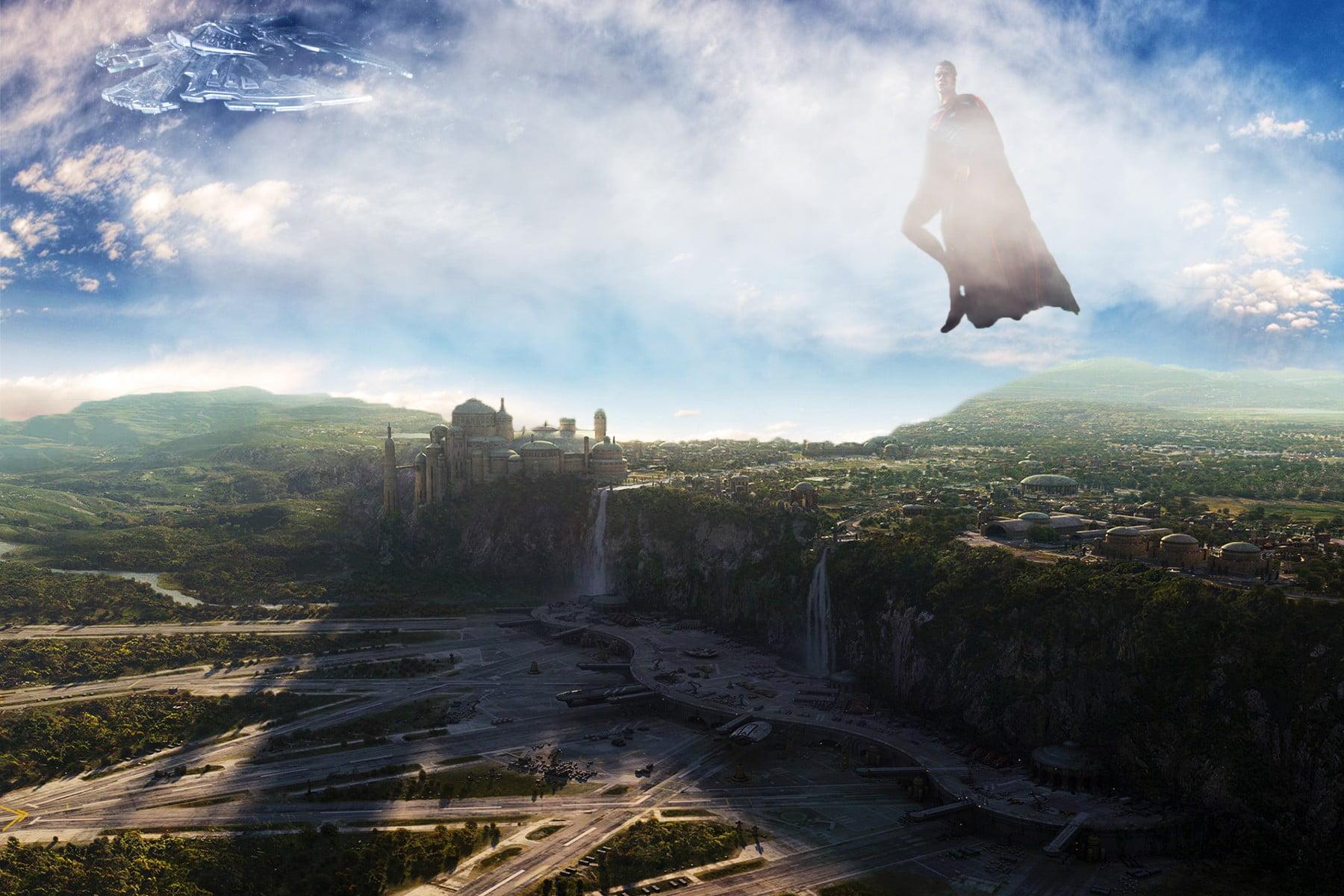 Superman Superman city Naboo HD wallpaper Wallpaper Flare 1800x1200