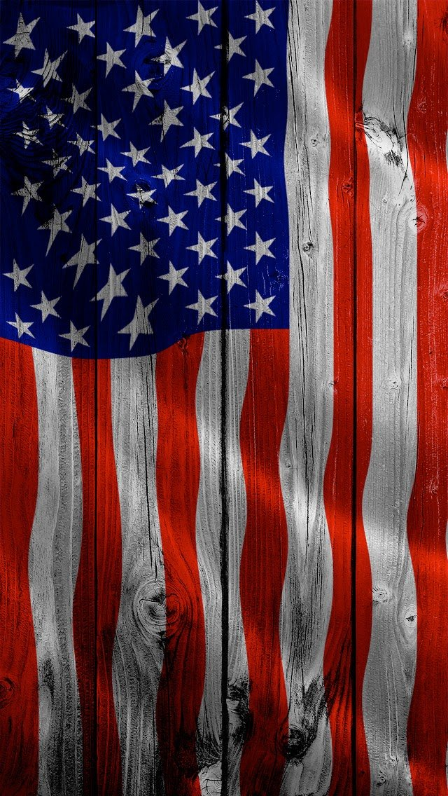 Wallpapers Calendars American Flag iPhone 5 Wallpapers 640x1136