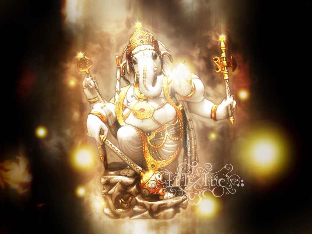 God Photos God Ganesh Beautiful Wallpapers 1024x768
