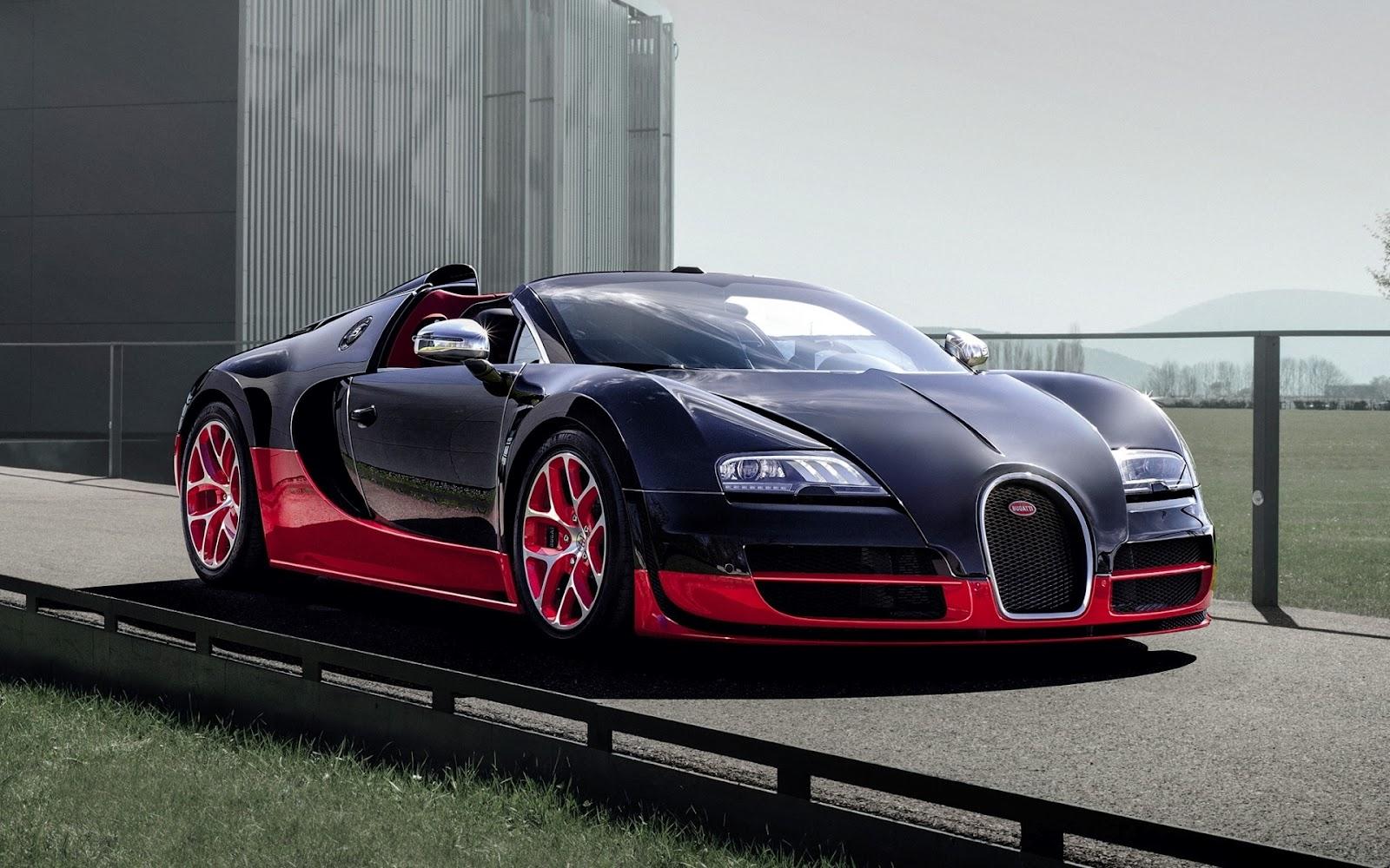 Wallpapers HD Sport Car Bugatti Veyron 1600x1000