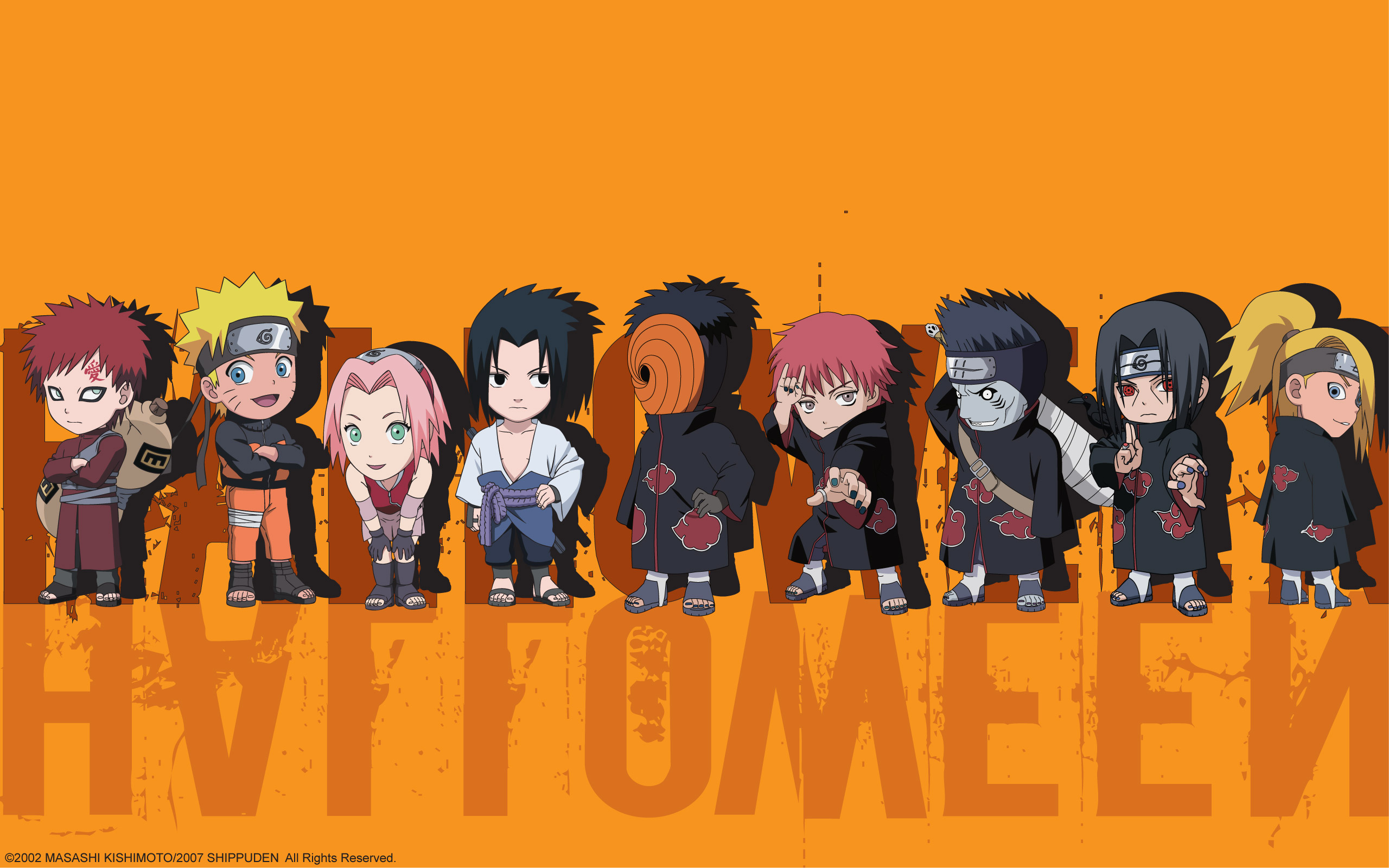 Naruto Shippuden Chibis   Uchiha Obito Wallpaper 32267008 2560x1600