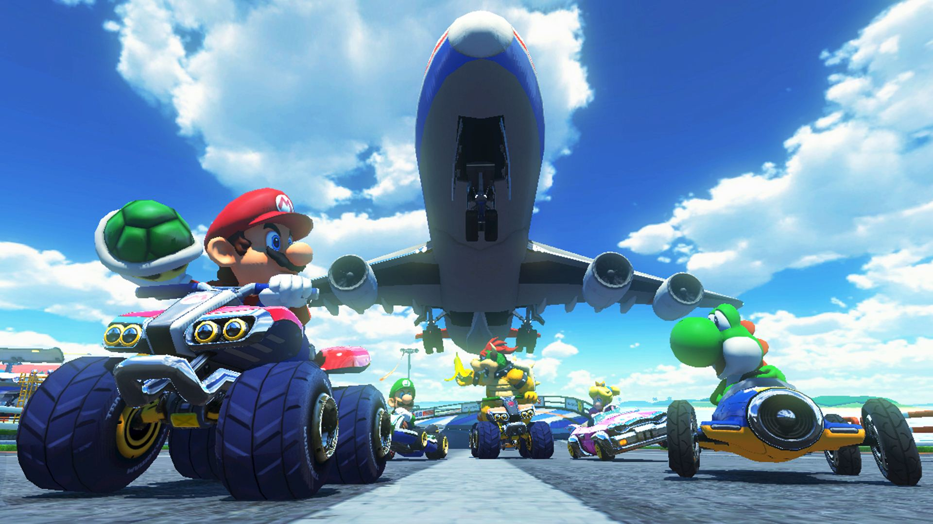 wallpapers mario kart