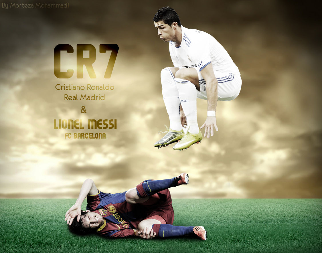 other wallpapers of Messi VS Ronaldo Wallpapers as often as possible 1125x884
