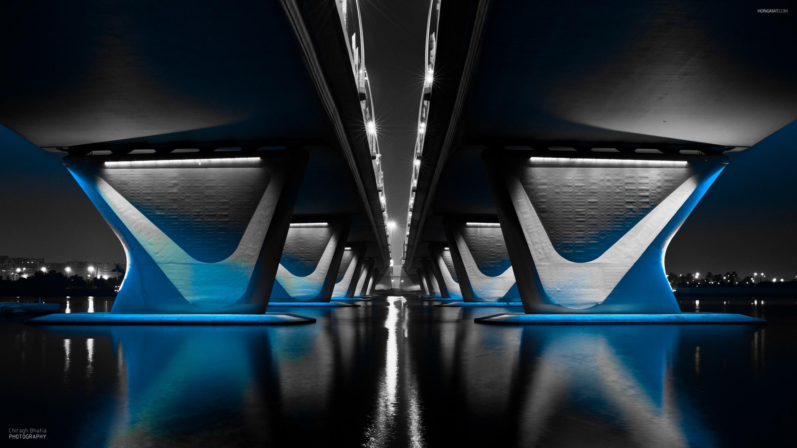 MidNight Bridge Wallpapers HD Wallpapers 2560x1440