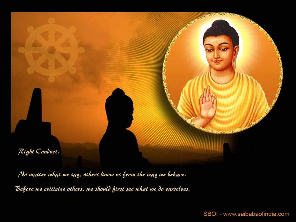 Wallpapers Backgrounds   Buddha Sai Baba wallpapers screensavers 1024x768