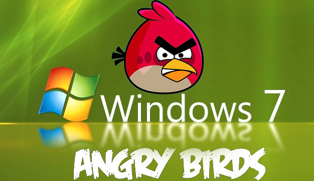 Angry Birds Desktop Wallpaper for Windows 7   Angry Birds Photo 626x360