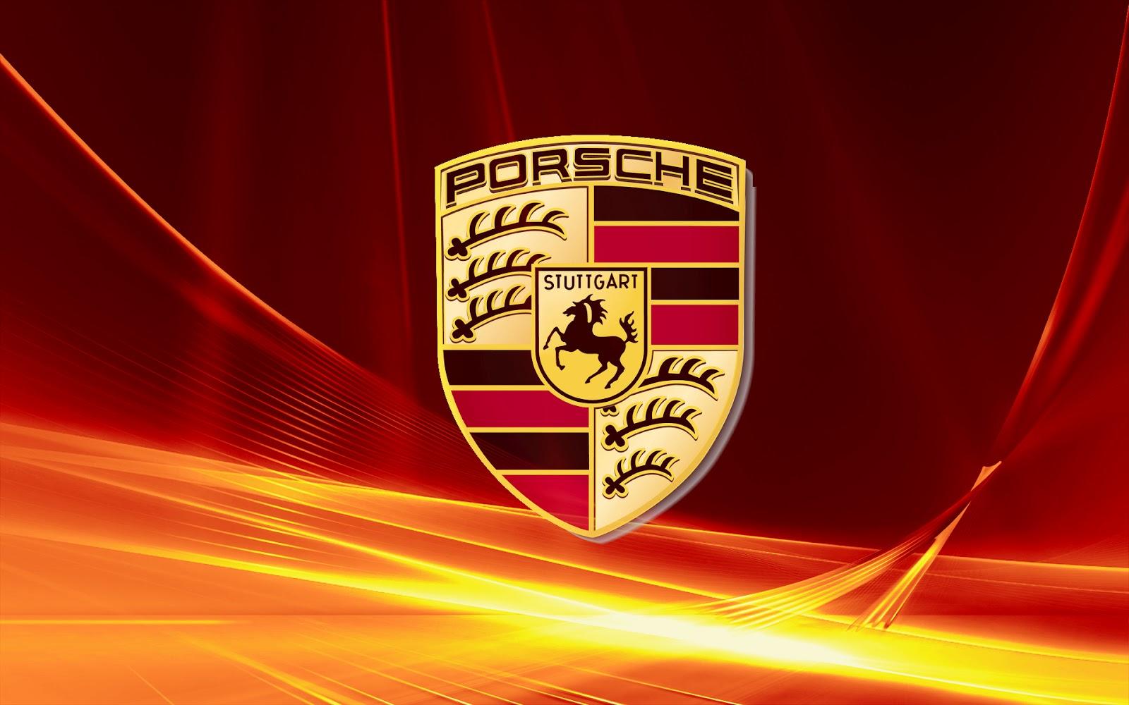 Porsche logo wallpaper wallpapersafari - Car logo wallpapers ...