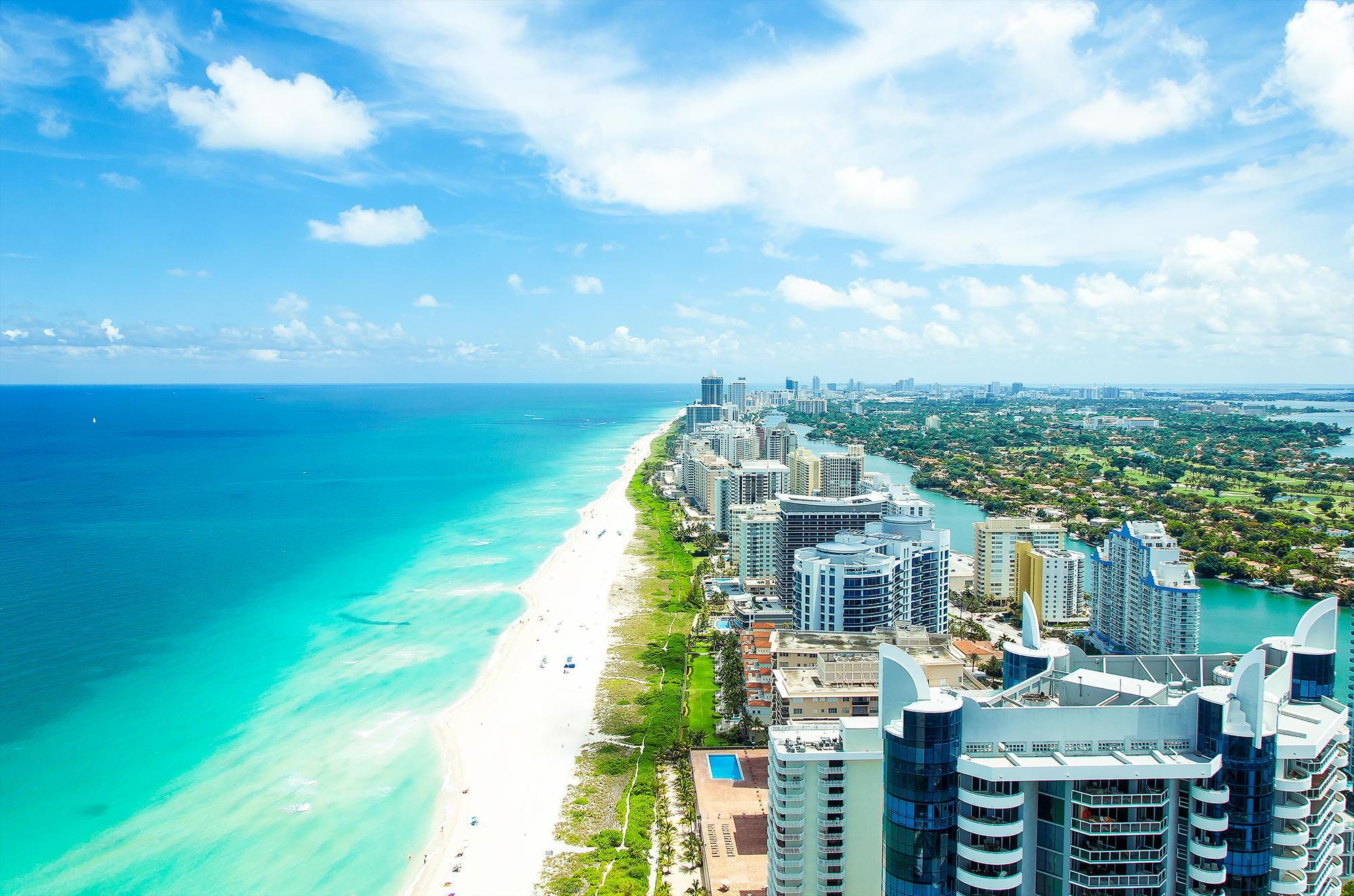 Miami fl florida miami summer beach ocean vice city wallpapers 2000x1325