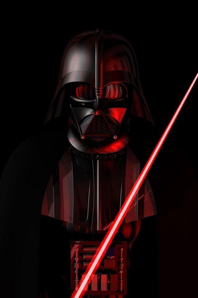 Darth Vader Star Wars Papel de parede star wars Star wars 640x960
