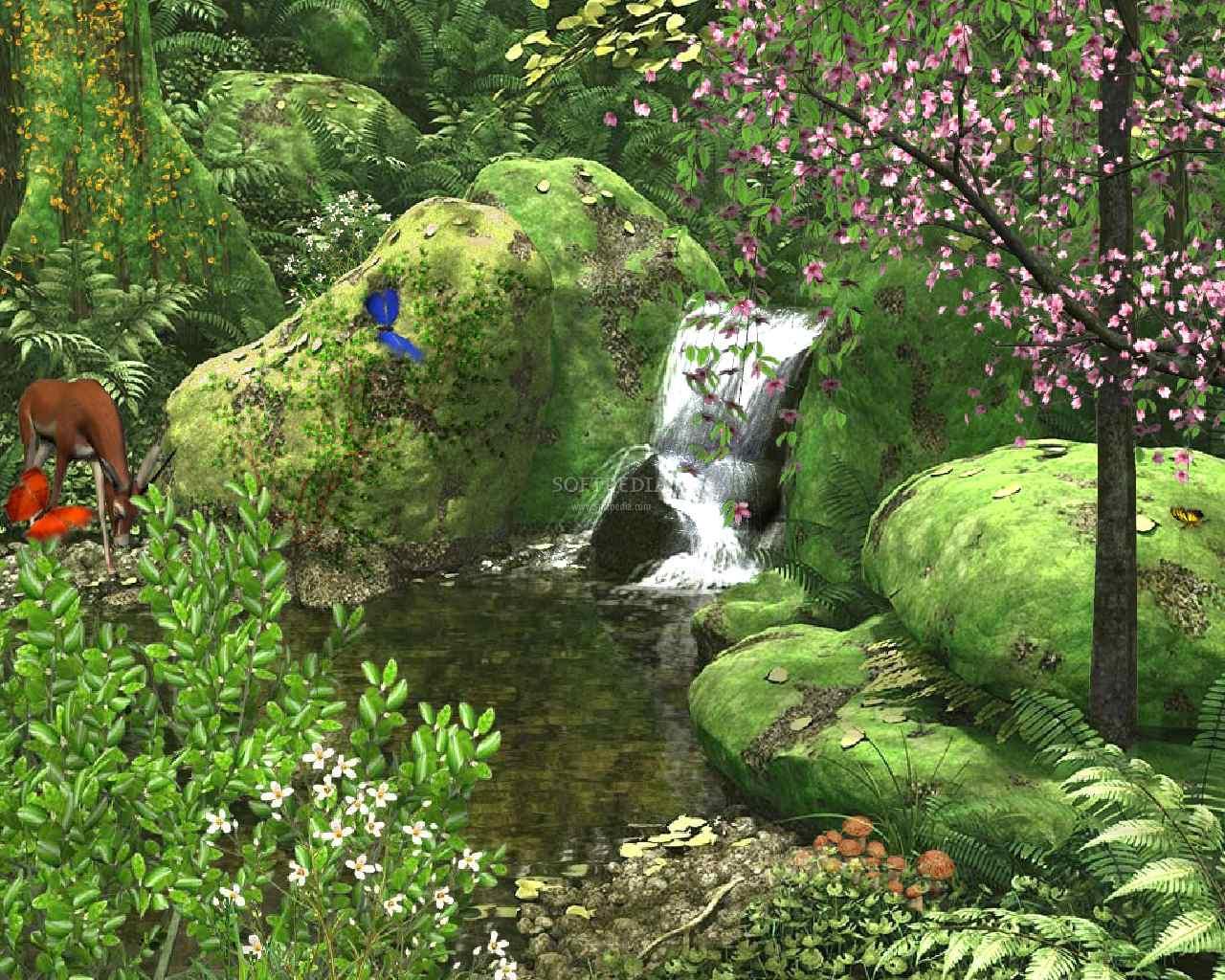 pic new posts Wallpaper Spring Scenes 1280x1024