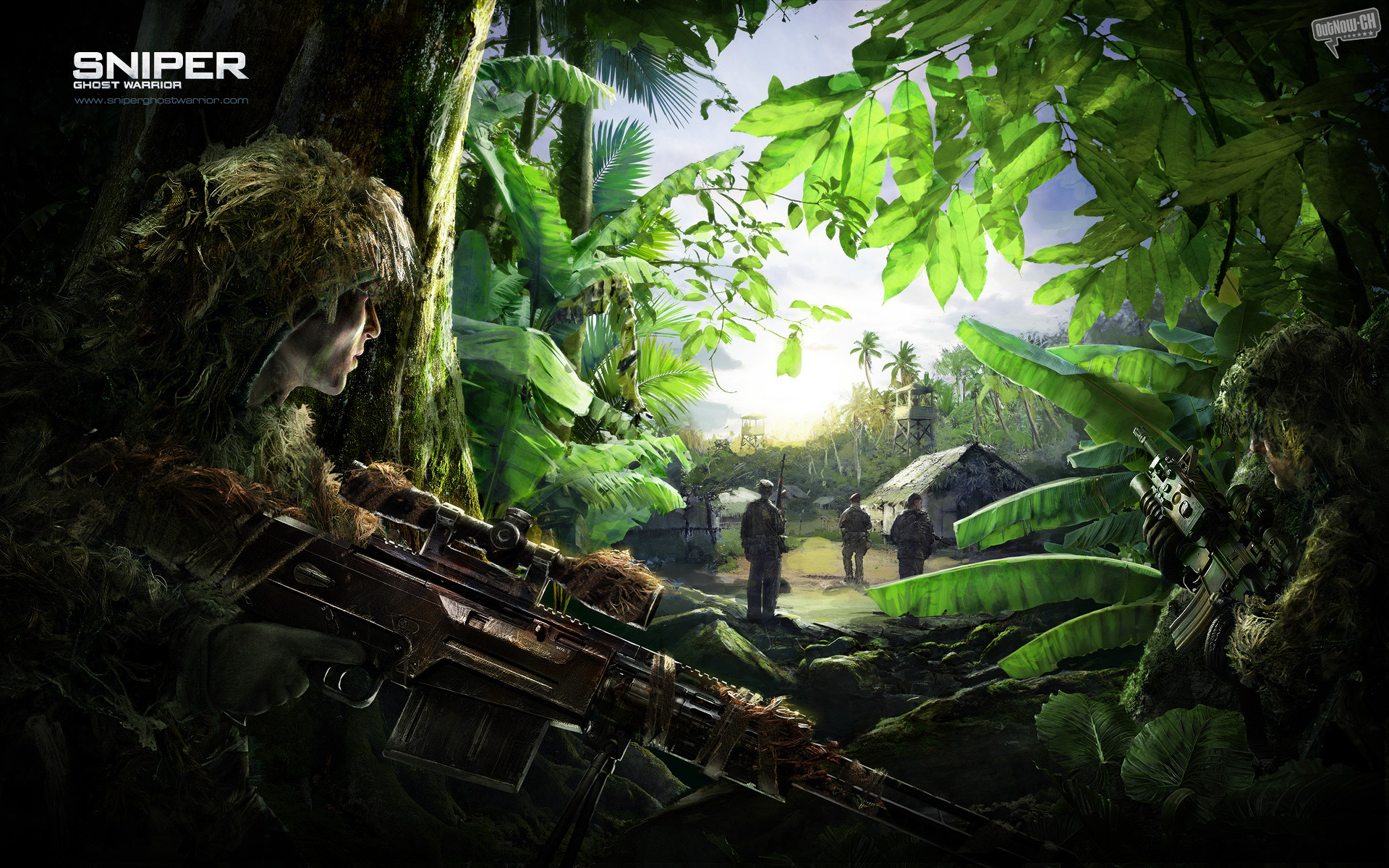 1920x1200 Sniper Ghostwarrior desktop PC and Mac wallpaper 1920x1200