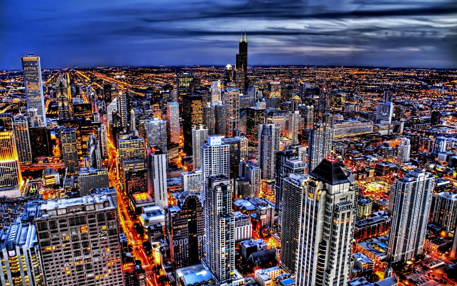 City lights HD Wallpapers Hd Wallpaper 1600x1000