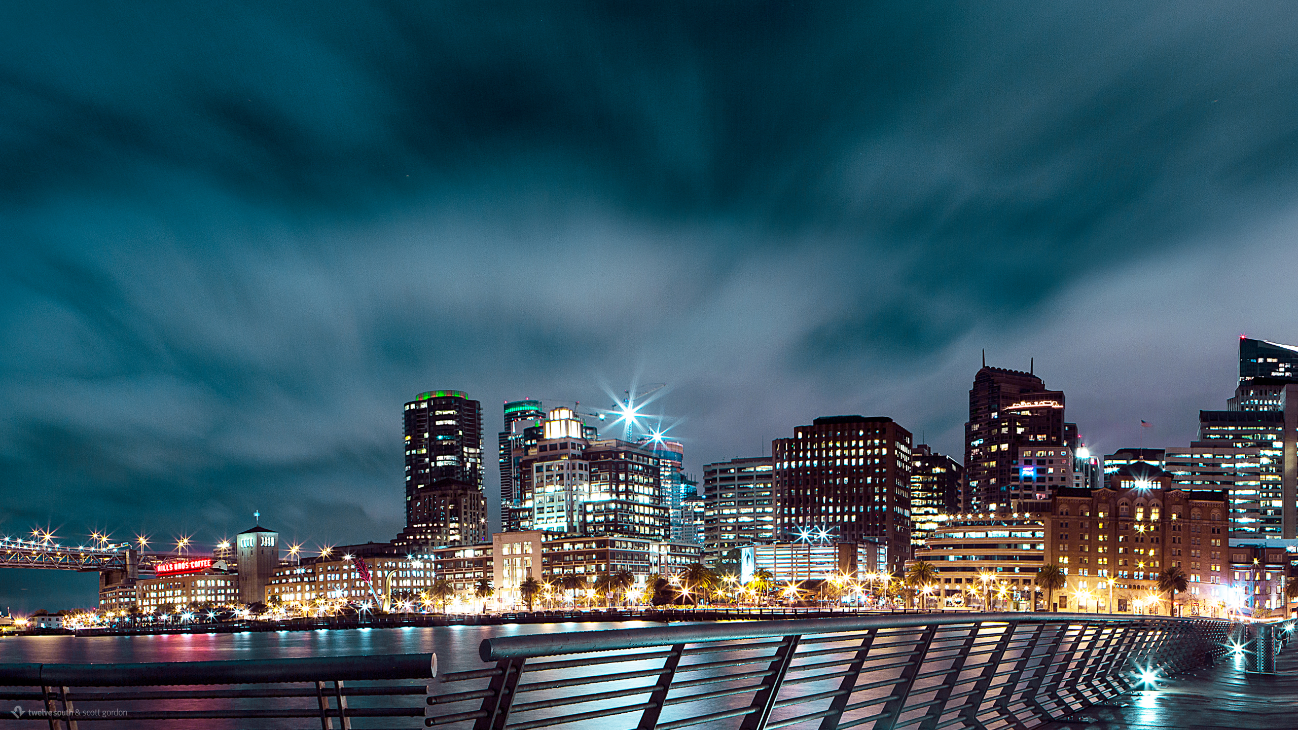 San Francisco Nightscape Wallpapers HD Wallpapers 2560x1440