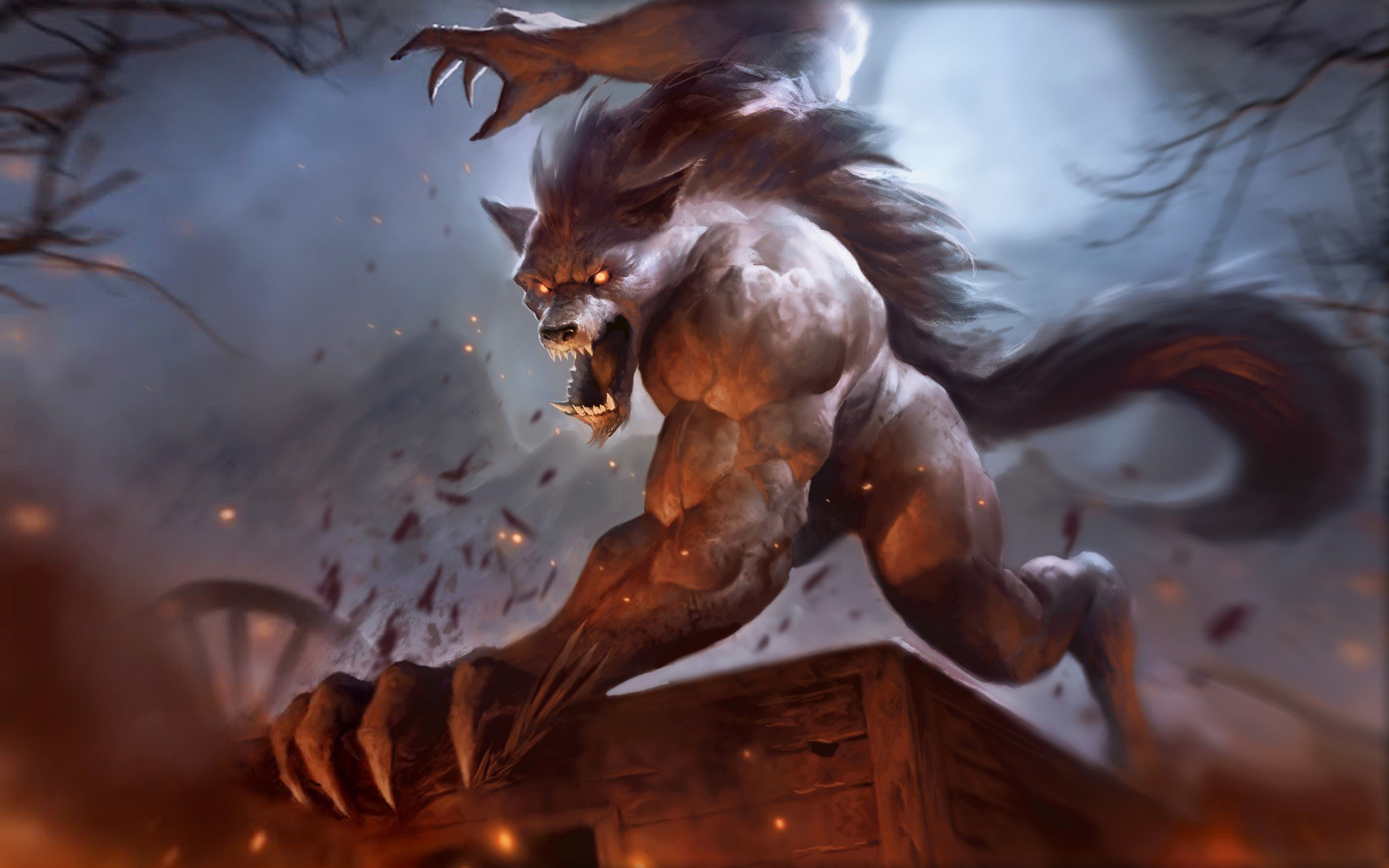 Very scary beast wallpapers and images   wallpapers pictures photos 2560x1600