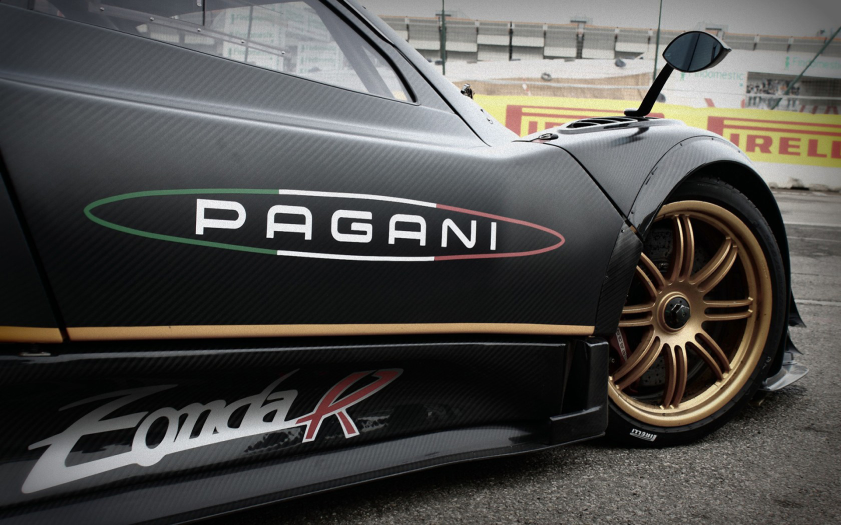 Pagani Zonda R widescreen wallpaper Wide WallpapersNET 1680x1050