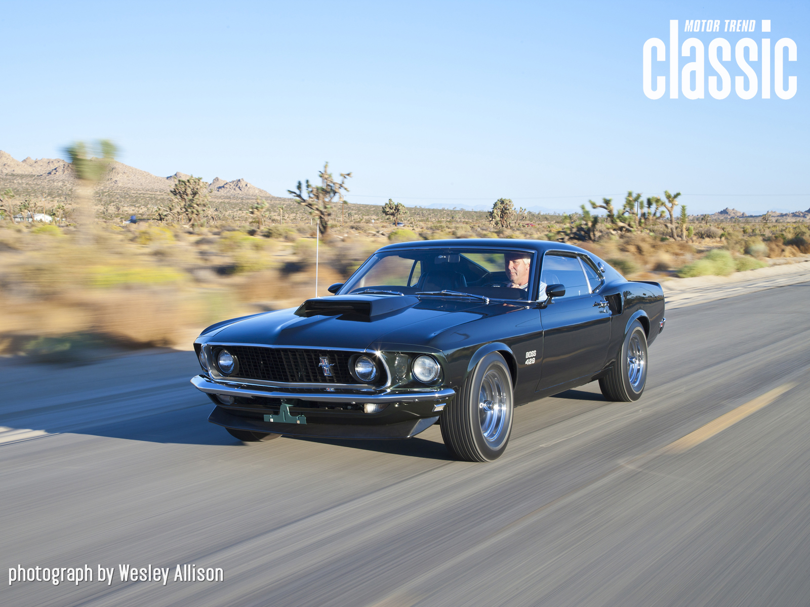1969 Ford Mustang Boss 429 Wallpaper Gallery Photo Gallery   Motor 1600x1200