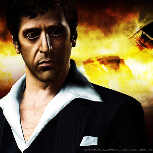 Pictures scarface tony montana cocaine 320x480 iphone mobile wallpaper 512x511