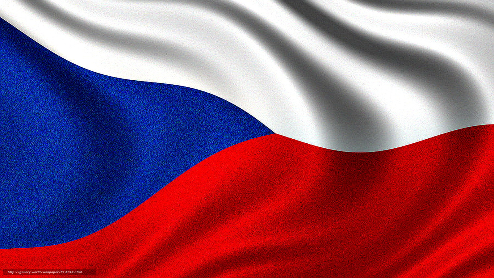 Download wallpaper Flag of the Czech Republic Czech Czech 1600x900
