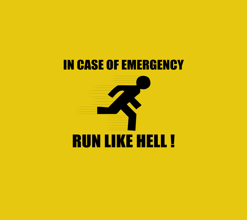 Emergency Saying Text Funny Signs And Sayings Wallpapers 960x854