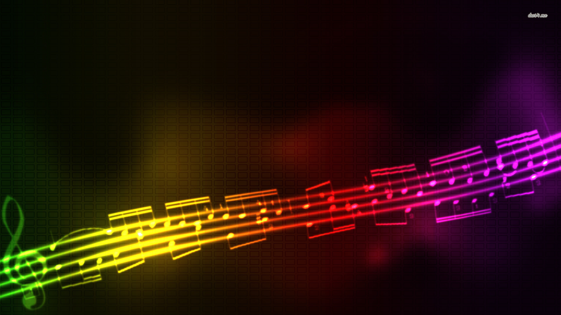 Musical Notes wallpaper   Music wallpapers   3229 1920x1080