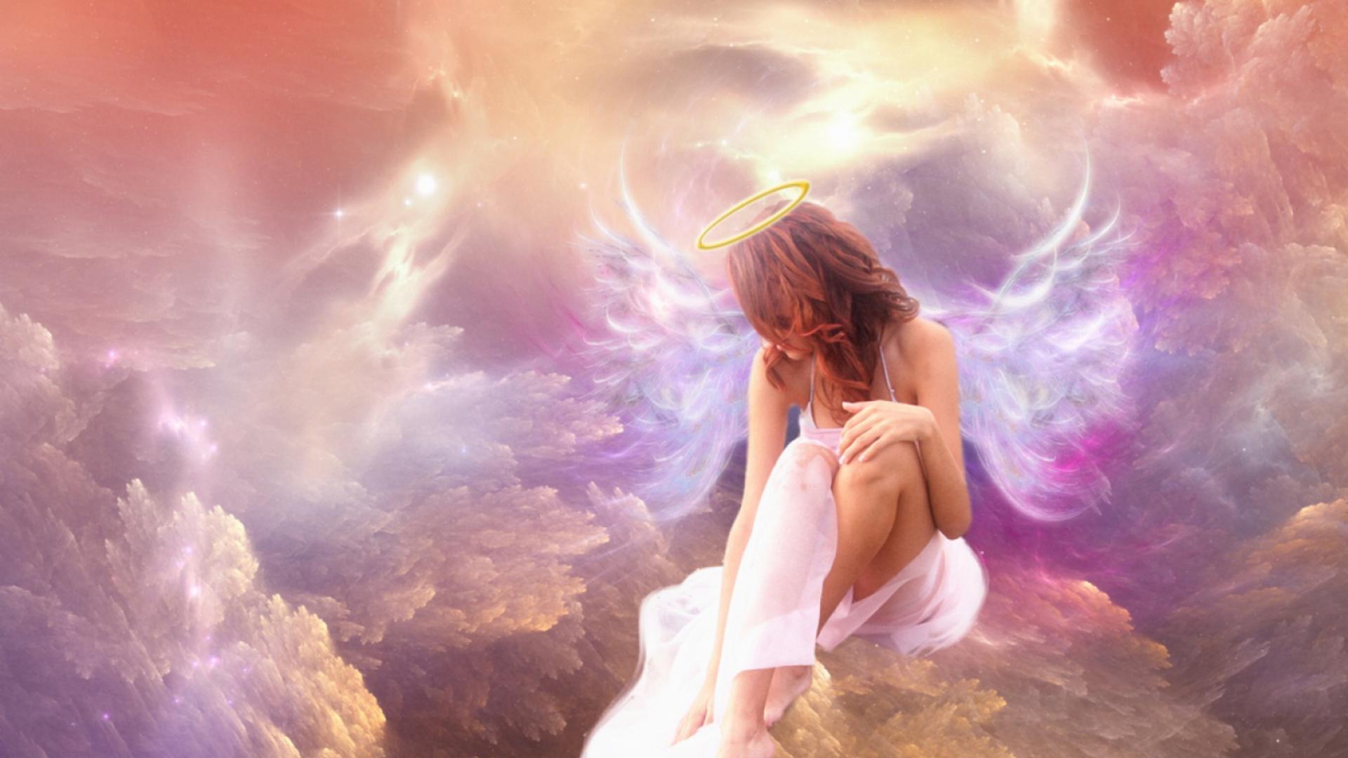 Ангелы в небе  № 2270129 бесплатно