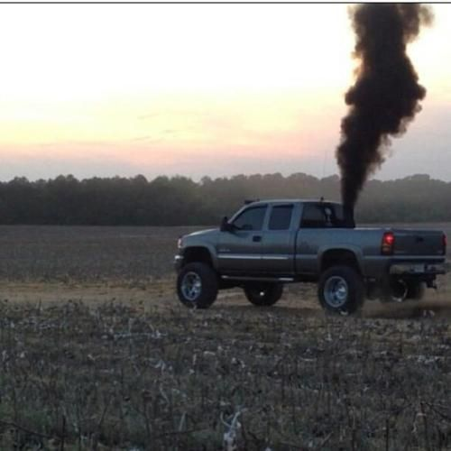Chevy Duramax Rollin Coal Lifted trucks Pinterest 500x500