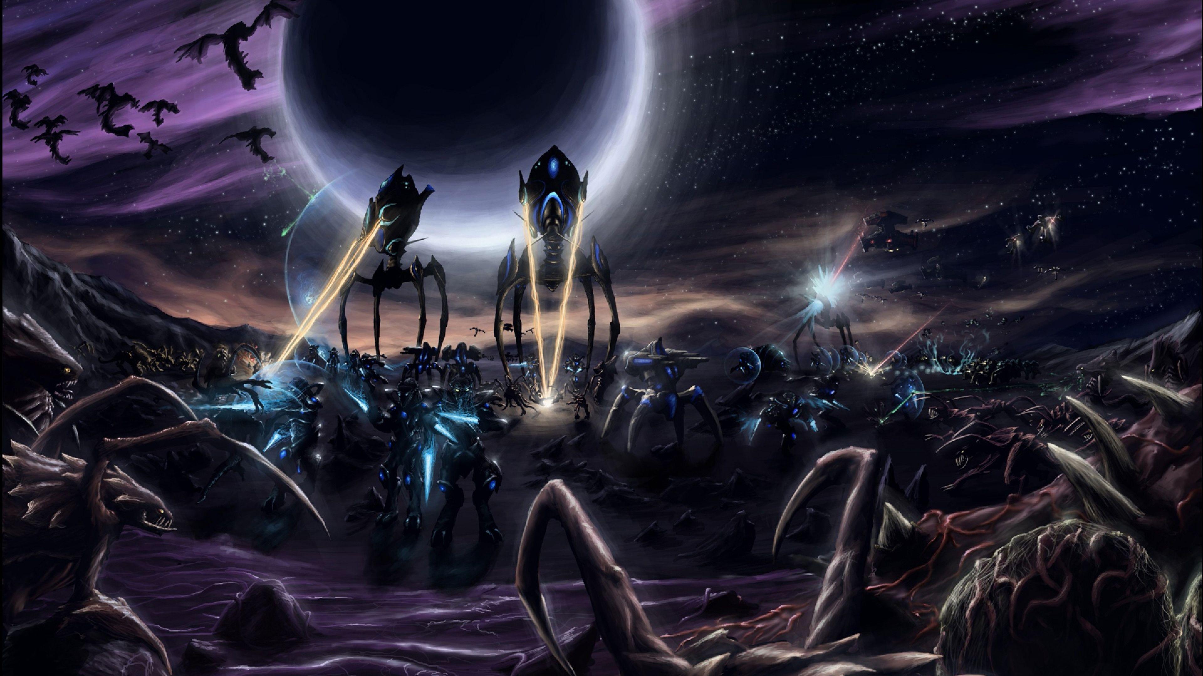 4K Starcraft Wallpapers   Top 4K Starcraft Backgrounds 3840x2160