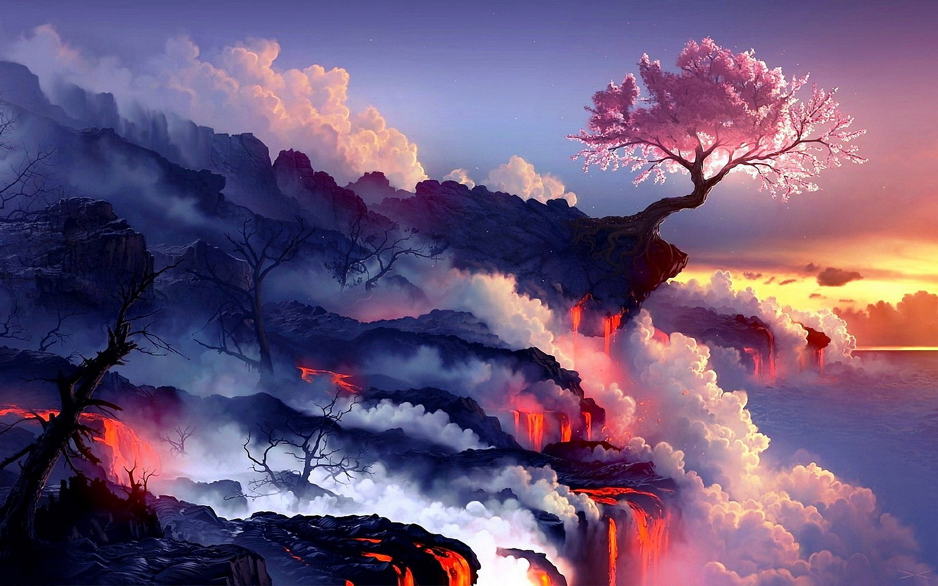 Volcano Wallpapers and Background Images   stmednet 1920x1200