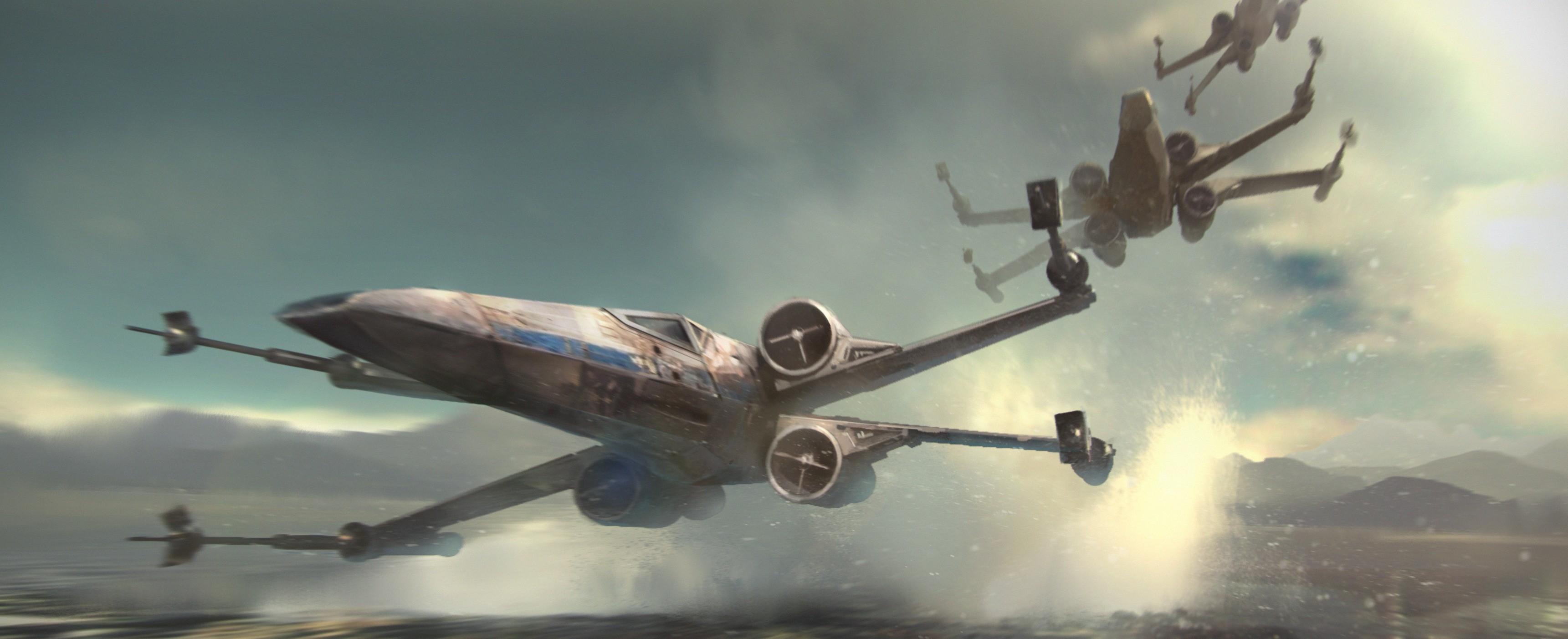 Star Wars Episode VII   The Force Awakens [Wallpapers HD]   Taringa 3442x1403