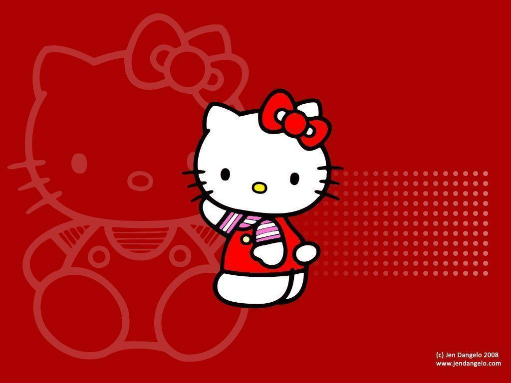 75+] Red Hello Kitty Wallpaper on WallpaperSafari