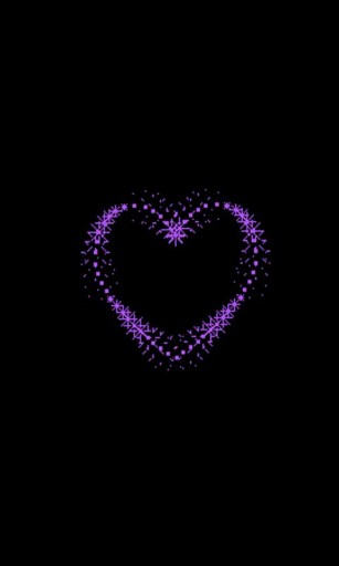 Download Purple Heart Live Wallpaper for Android by SquarePixel 307x512
