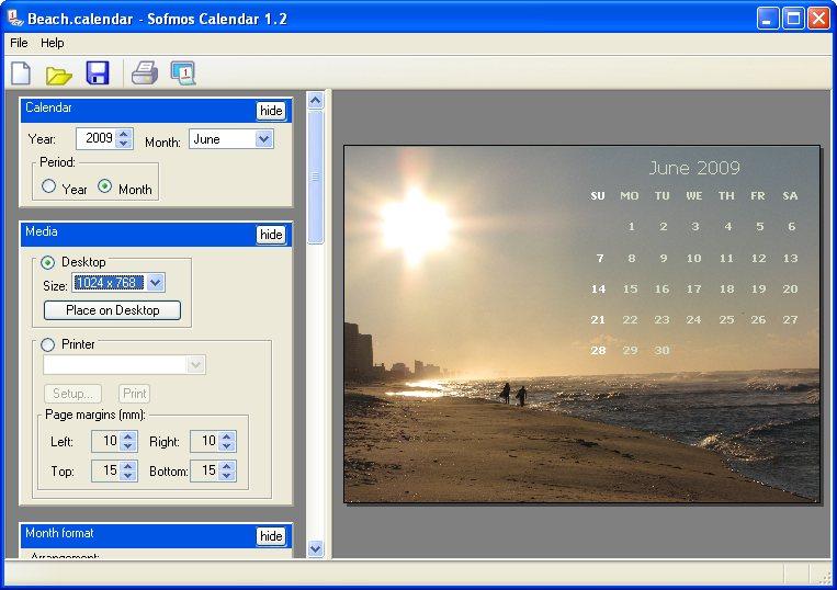 48+ Desktop Wallpaper Calendar Creator on WallpaperSafari