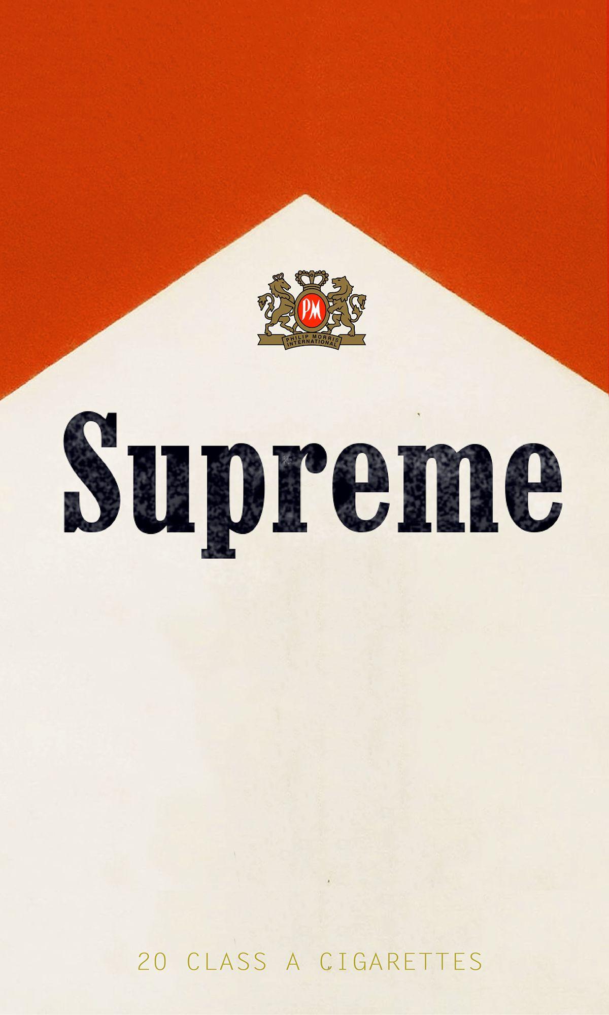 Marlboro x Supreme 2016 Supreme Pinterest 1200x2000
