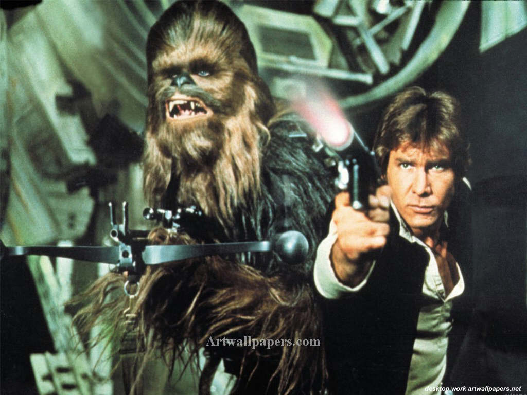 Besa a mi wookiee Han Solo al Seor de la Guerra Zsinj 1024x768