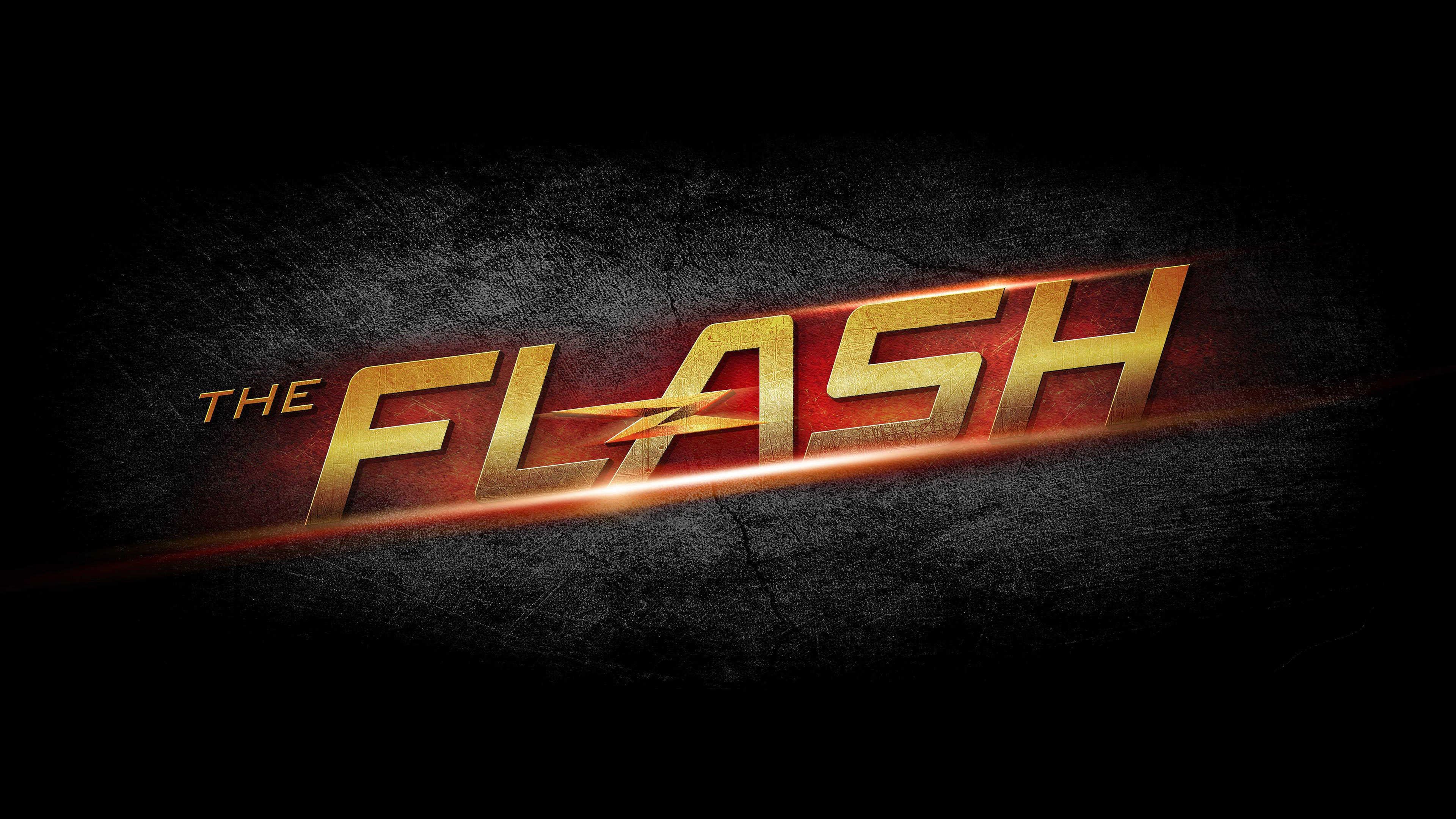 Download The Flash Logo Desktop Wallpaper hdwallwidecom HDWallWide 3840x2160