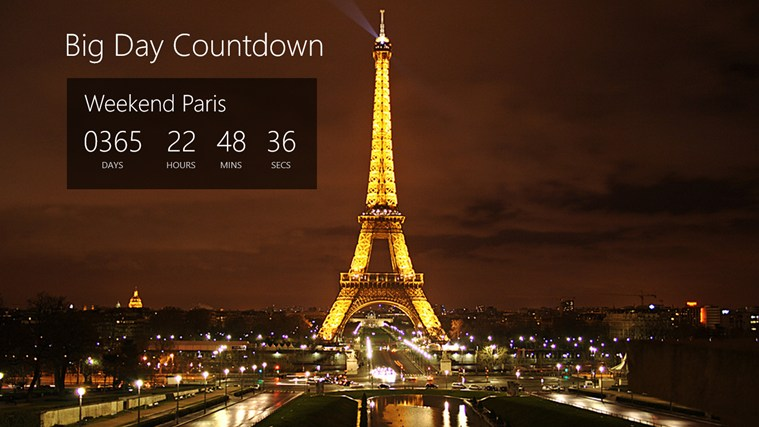 Full Screen Countdown Clock 759x427