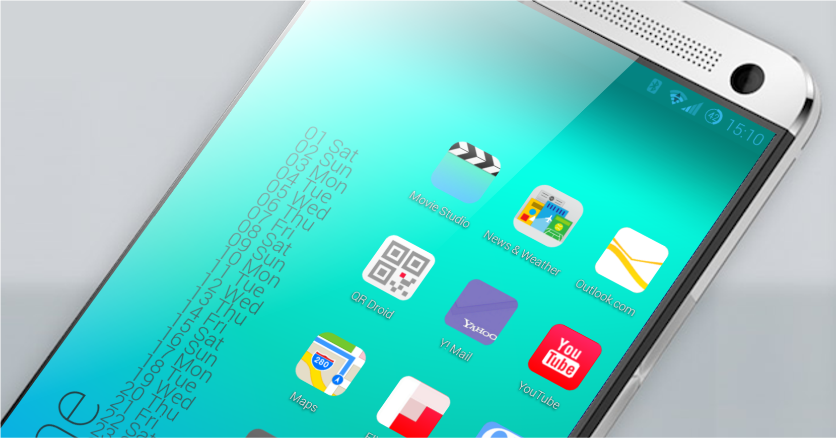 iOS 7 for Solo Launcher Theme 109 screenshot 2 1660x870
