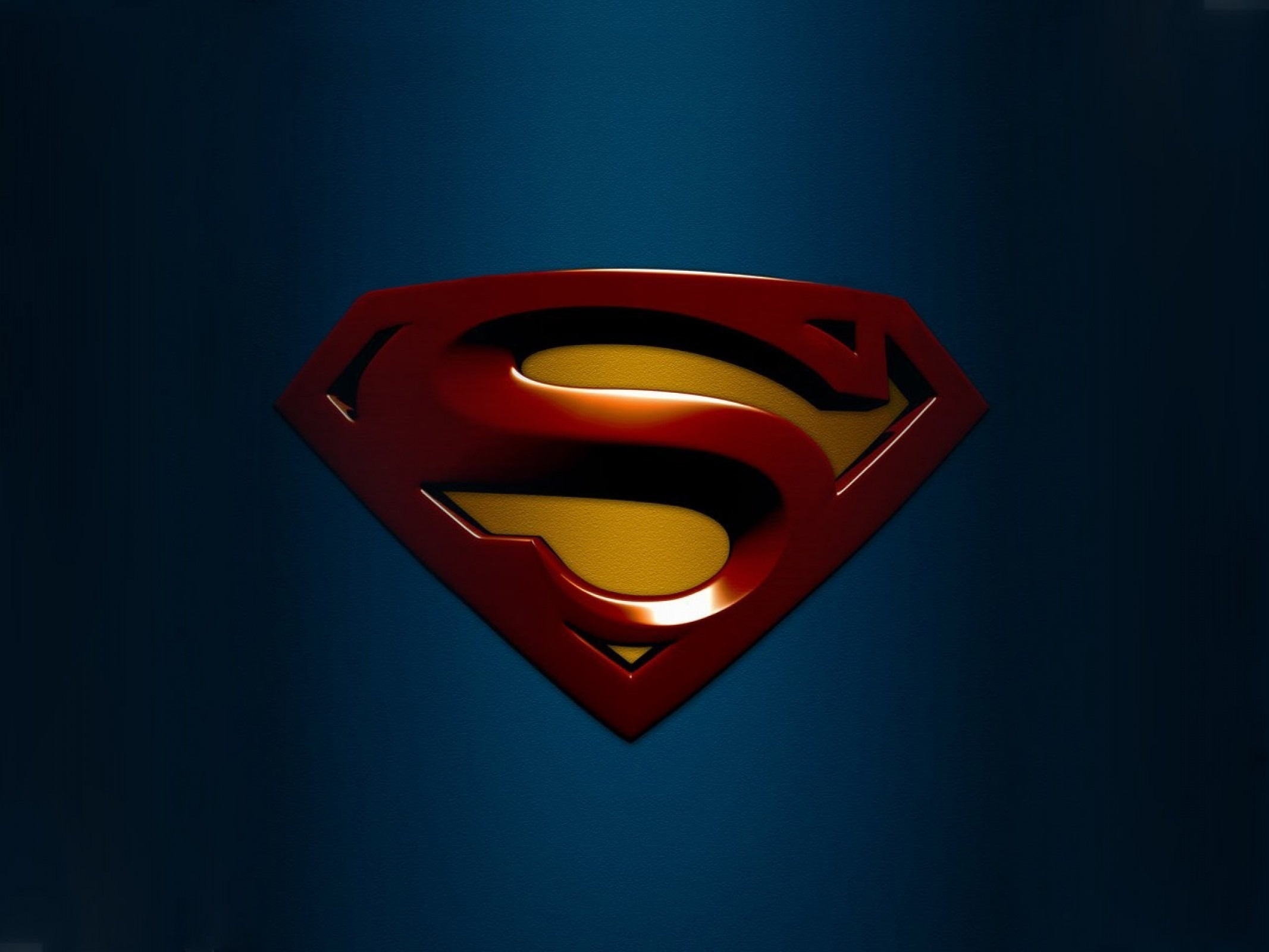 Wallpaper Superman logo graphics desktop wallpaper 3D GoodWP 2133x1600