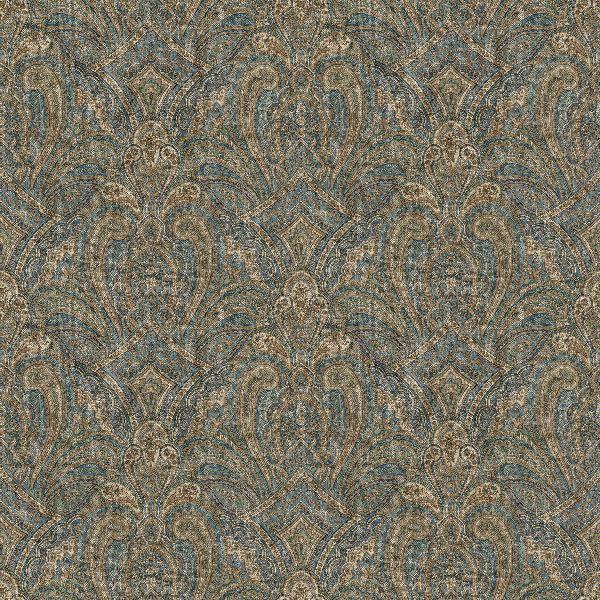 Navy Blue Paisley Wallpaper Wallpapersafari