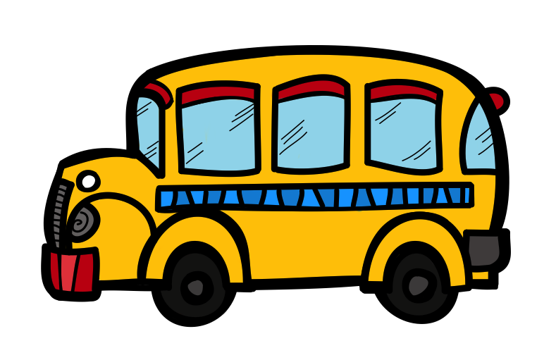 The Creative Chalkboard School Bus Clipart and KIDS Bundle MEGA 789x494