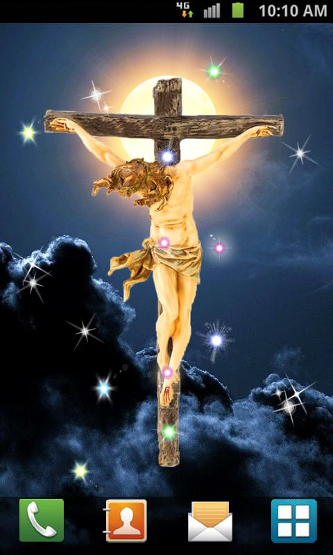 Jesus Cross Live Wallpaper   Izinhlelo ze Android ku Google Play 480x800