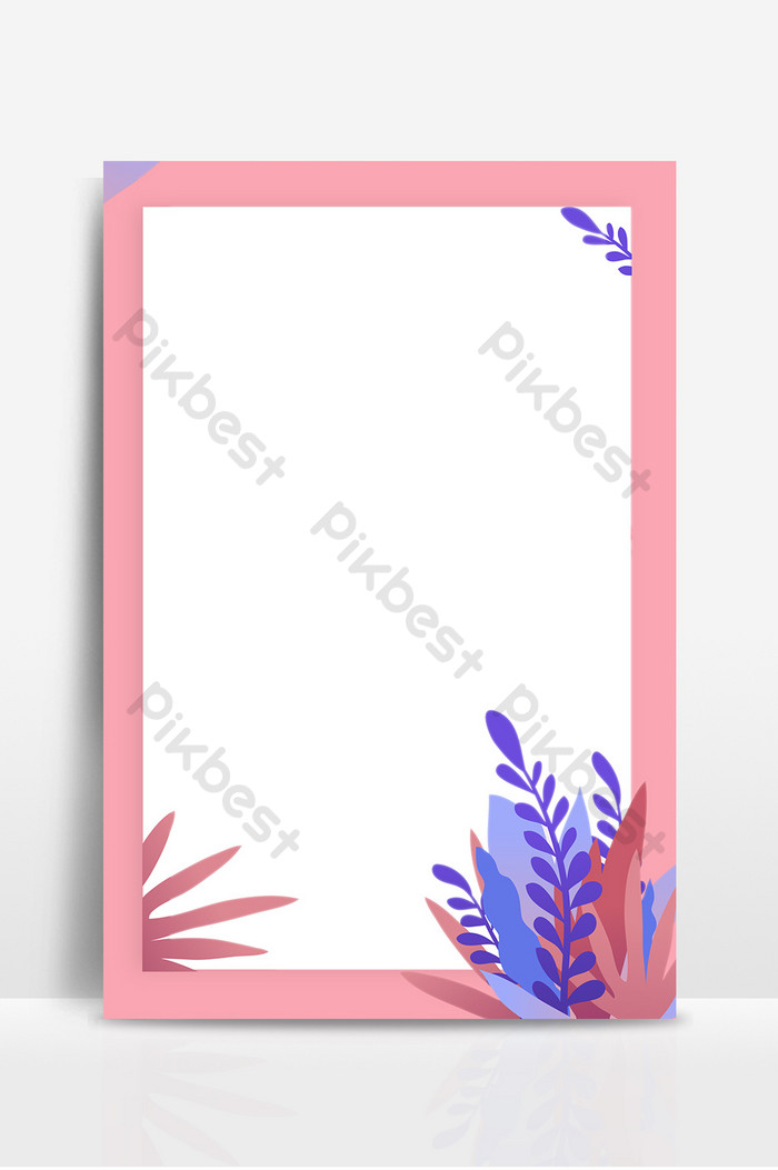 Sweet romantic flowers vector kanban background Backgrounds 700x1053