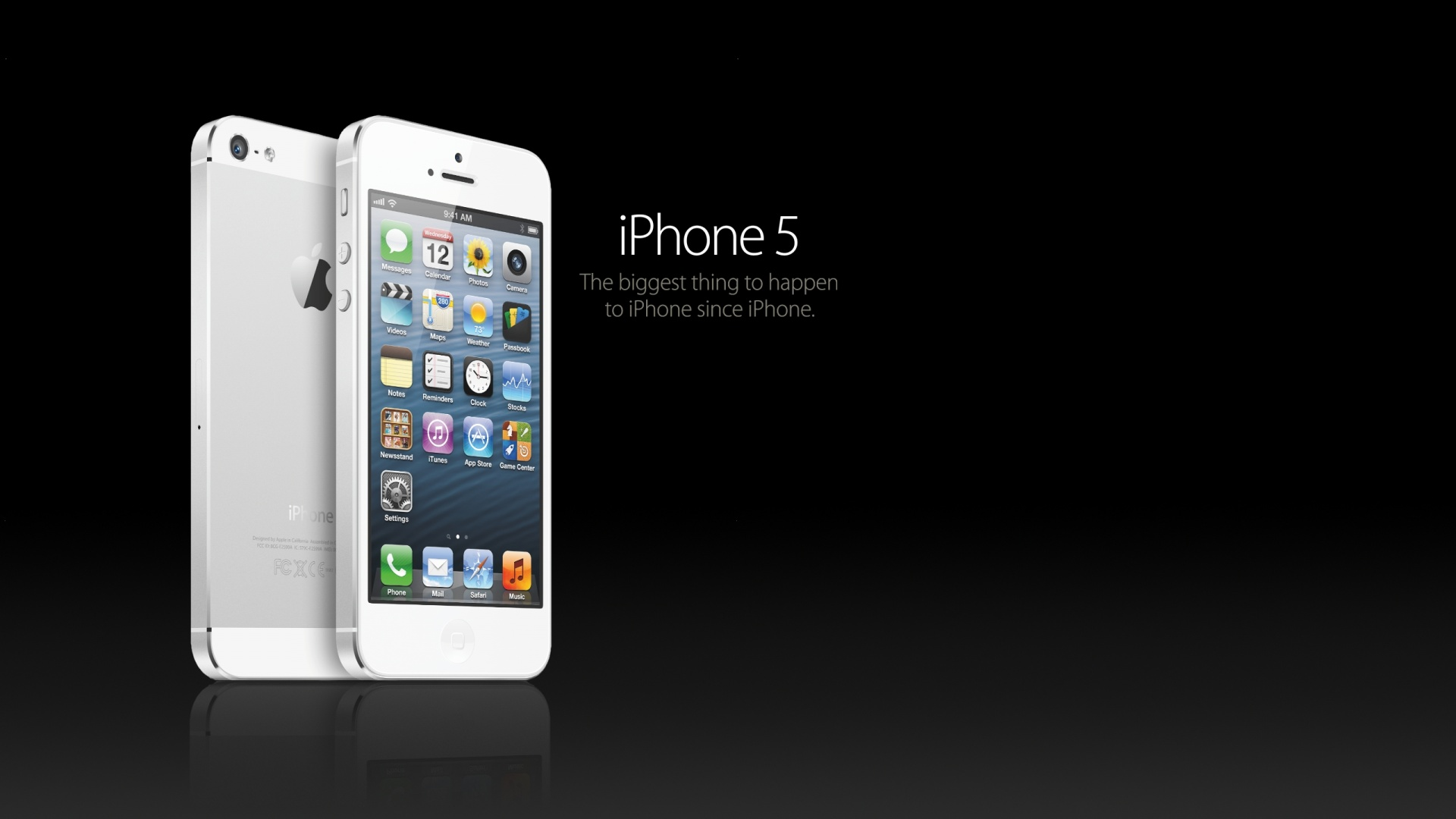iPhone 5 White HD Wallpaper iPhone 5 White 1920x1080