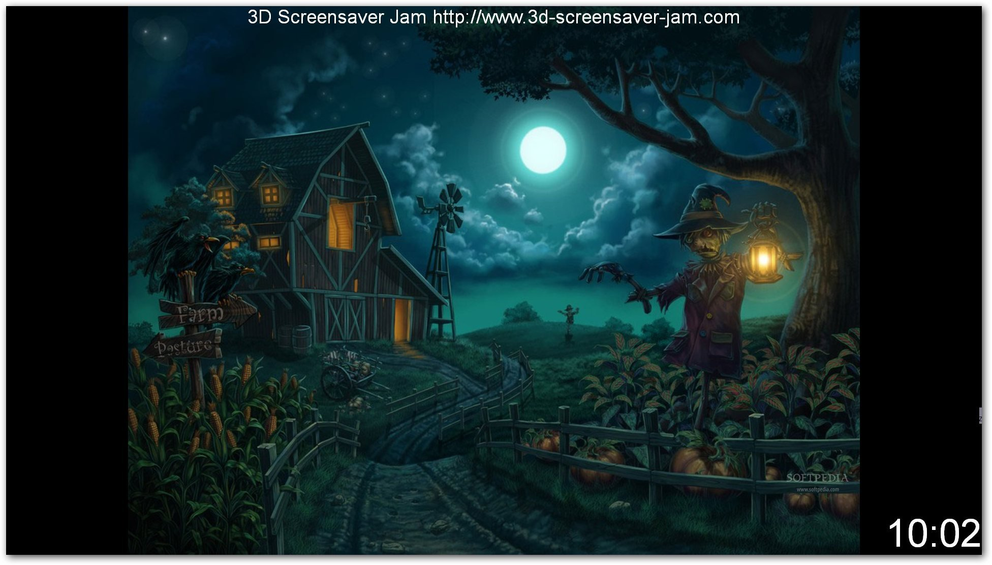 48 scary halloween wallpapers and screensavers on - Scary halloween screensavers animated ...