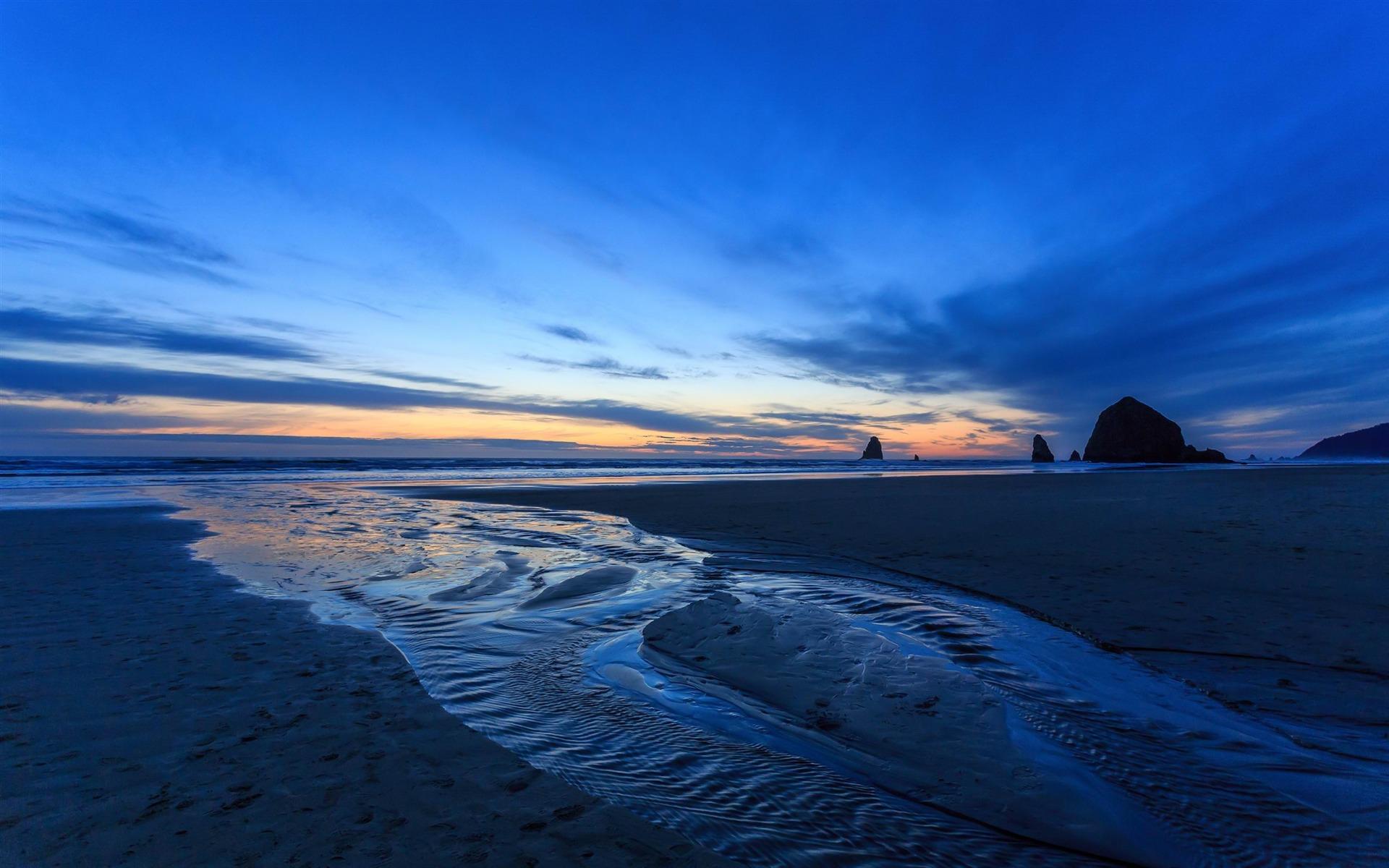 Scenic Beach Hd Photo Wallpaper: Oregon Scenery Wallpaper