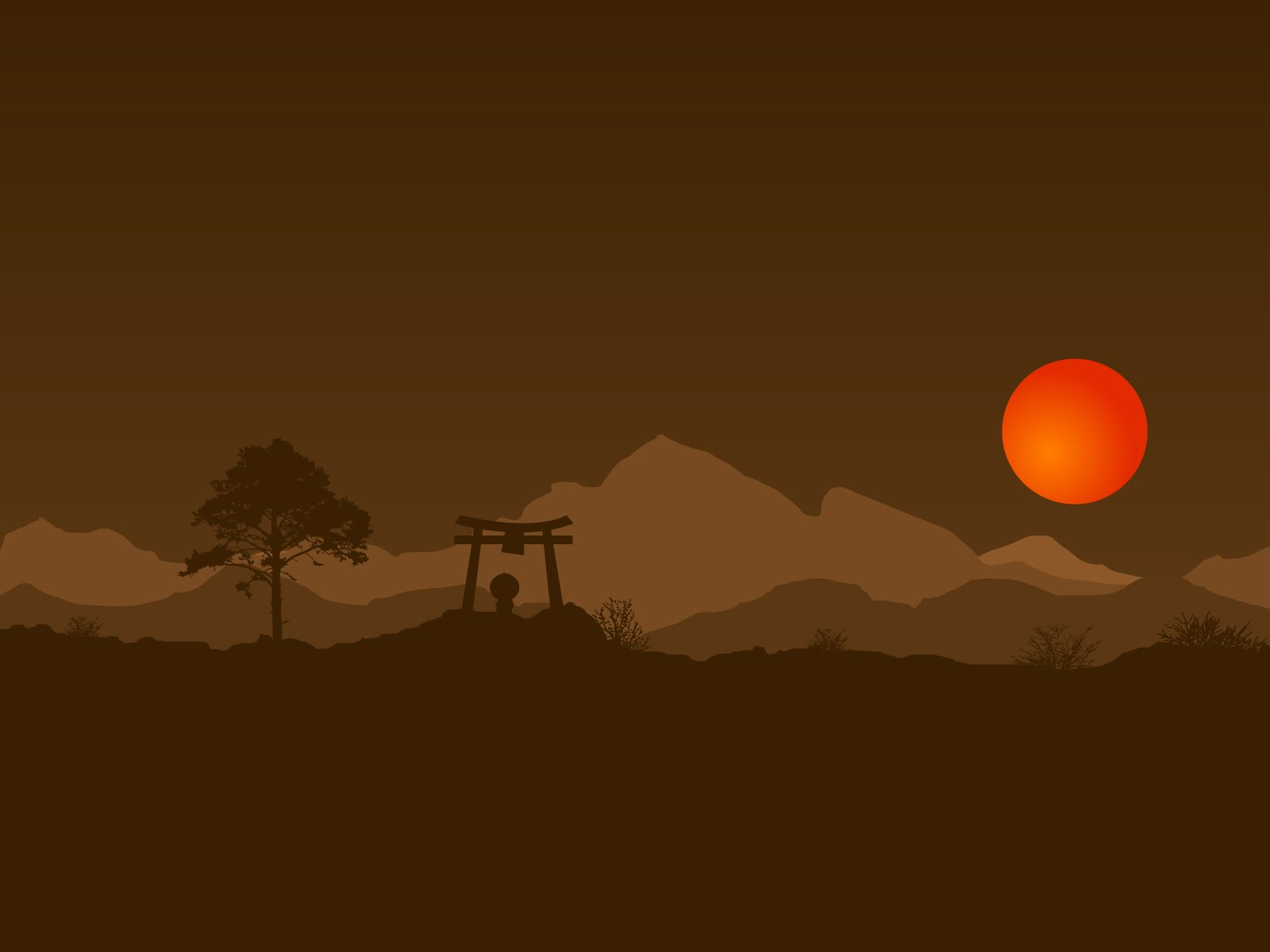 Theme Bin Blog Archive Japan Hills High Resolution Wallpaper 1600x1200