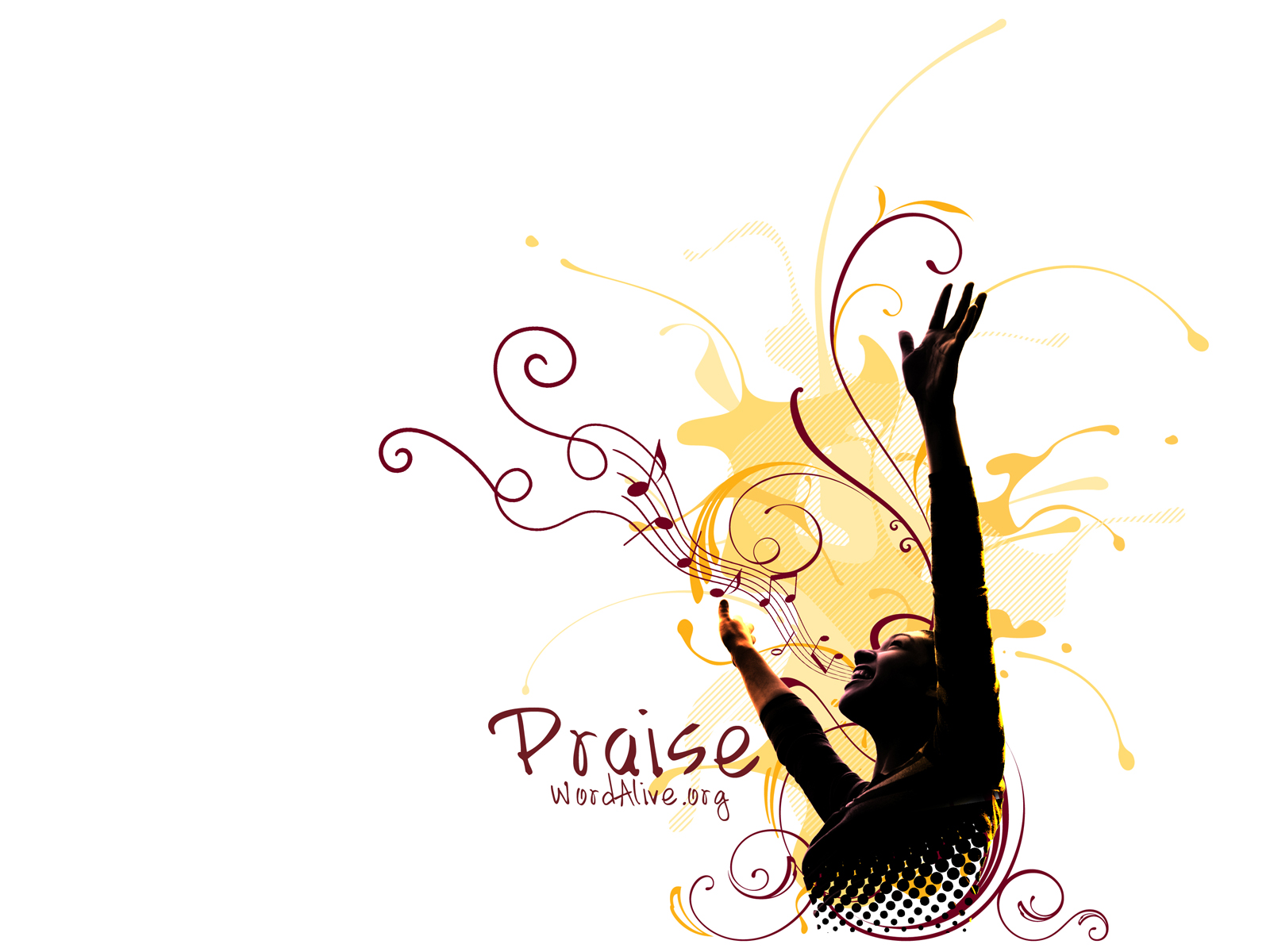Christian Graphic Praise Background Wallpaper   Christian Wallpapers 1600x1200