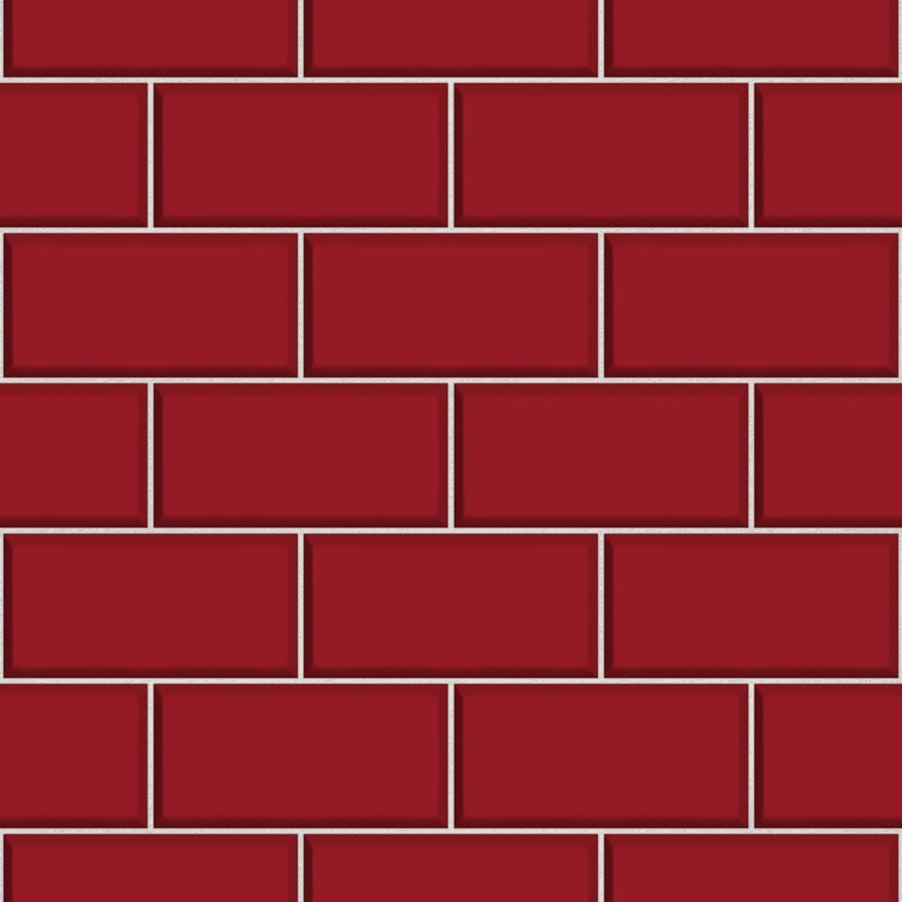 Subway Tile Wallpaper Wallpapersafari