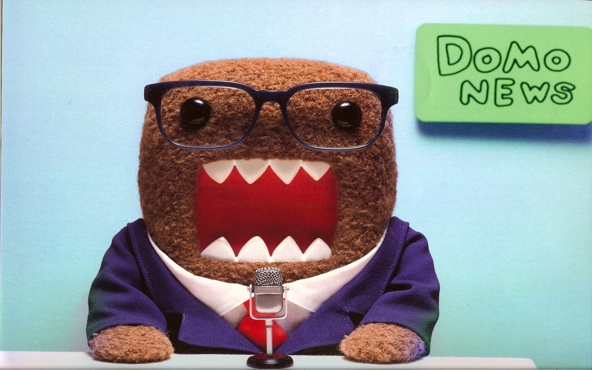 Funny Domo News Wallpaper Desktop Wallpaper WallpaperLepi 1920x1200