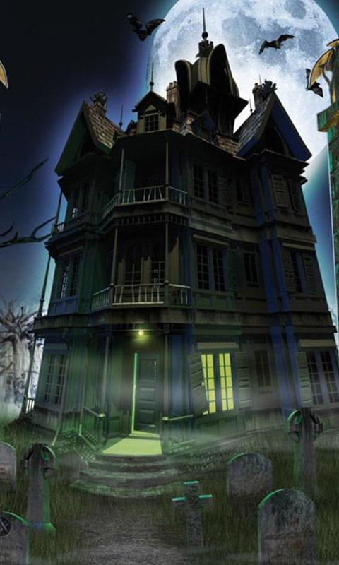Haunted House Live Wallpaper   Android Apps on Google Play 480x800